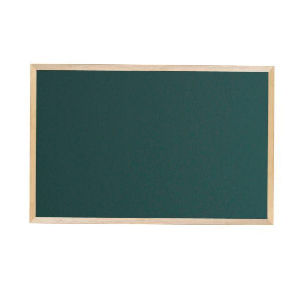 木枠ボード スチールグリーン黒板 900×600mm【WOS23】
