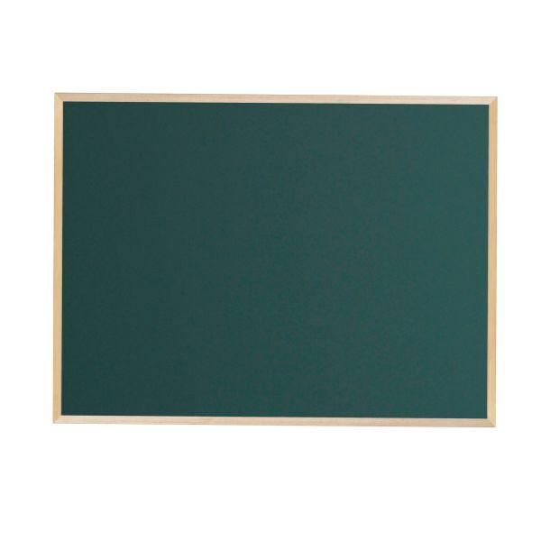木枠ボード スチールグリーン黒板 1200×900mm【WOS34】