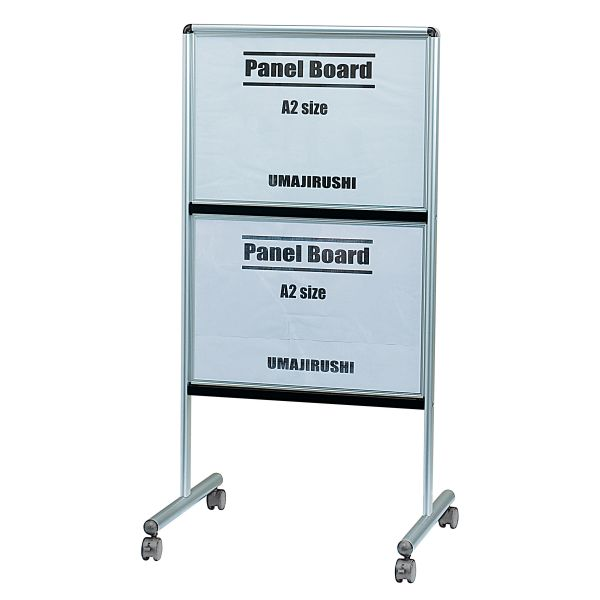 UDパネルボード ポスターボード 両面仕様 ヨコ2段タイプ A2サイズ(420×594mm)【YYA2】