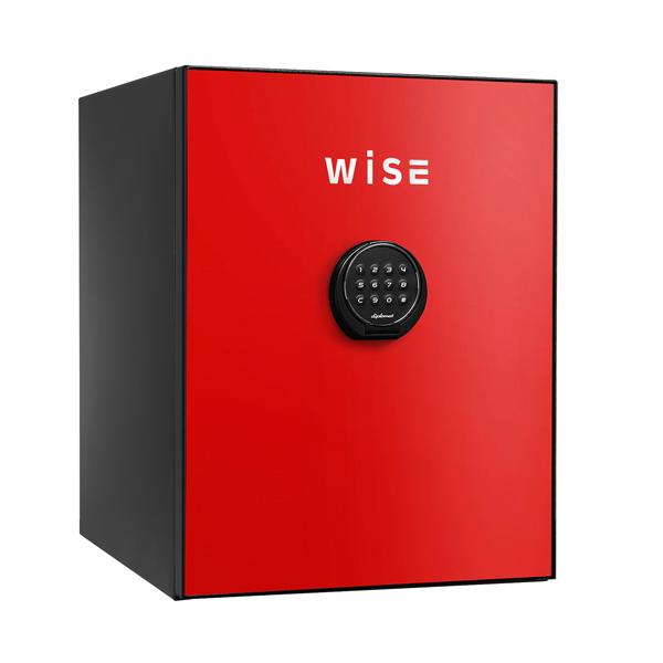 【開梱設置無料】【送料無料】ディプロマット WISEプレミアムセーフ(レッド) WS500ALR