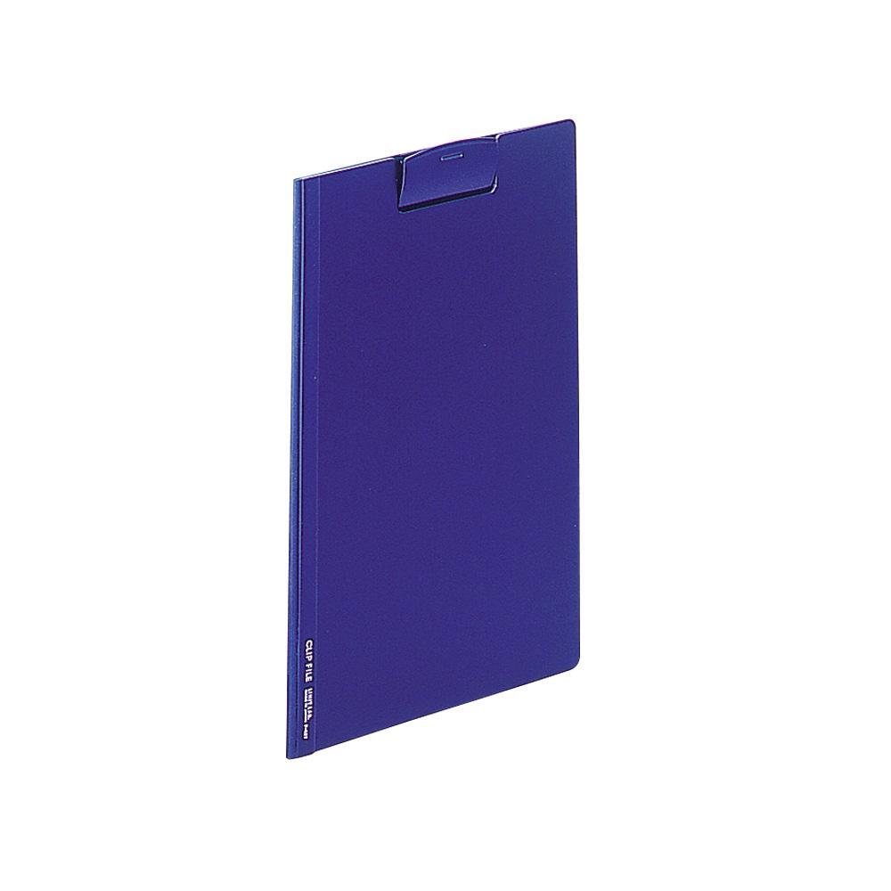 リヒトラブ ●日本正規品● クリップファイル 不透明タイプ F-437藍 収納枚数:コピー用紙35枚 超激安 A4
