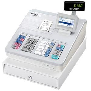 【送料無料】シャープ<SHARP> 電子レジスター XE-A207W-W(XEA207WW) ホワイト 1シート サーマルプリンタ搭載 大型液晶表示 02P01Nov14