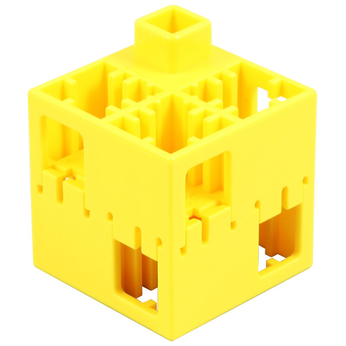 【送料無料!】Artec(アーテック) アーテックLブロック 四角 単色 100ピース黄 #76844