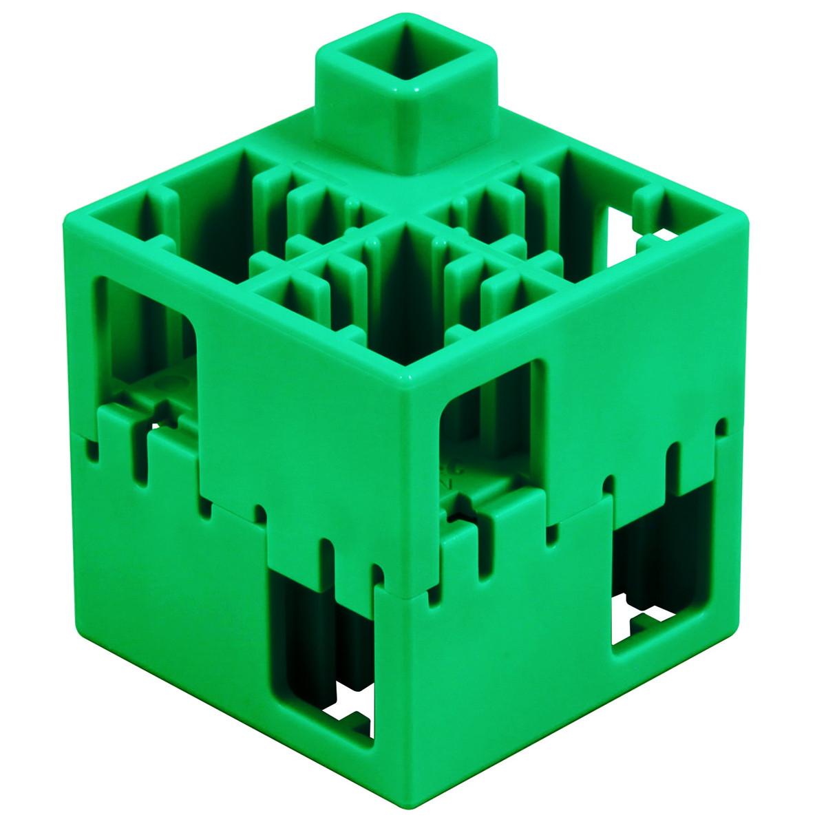 【送料無料!】Artec(アーテック) アーテックLブロック 四角 単色 100ピース緑 #76845