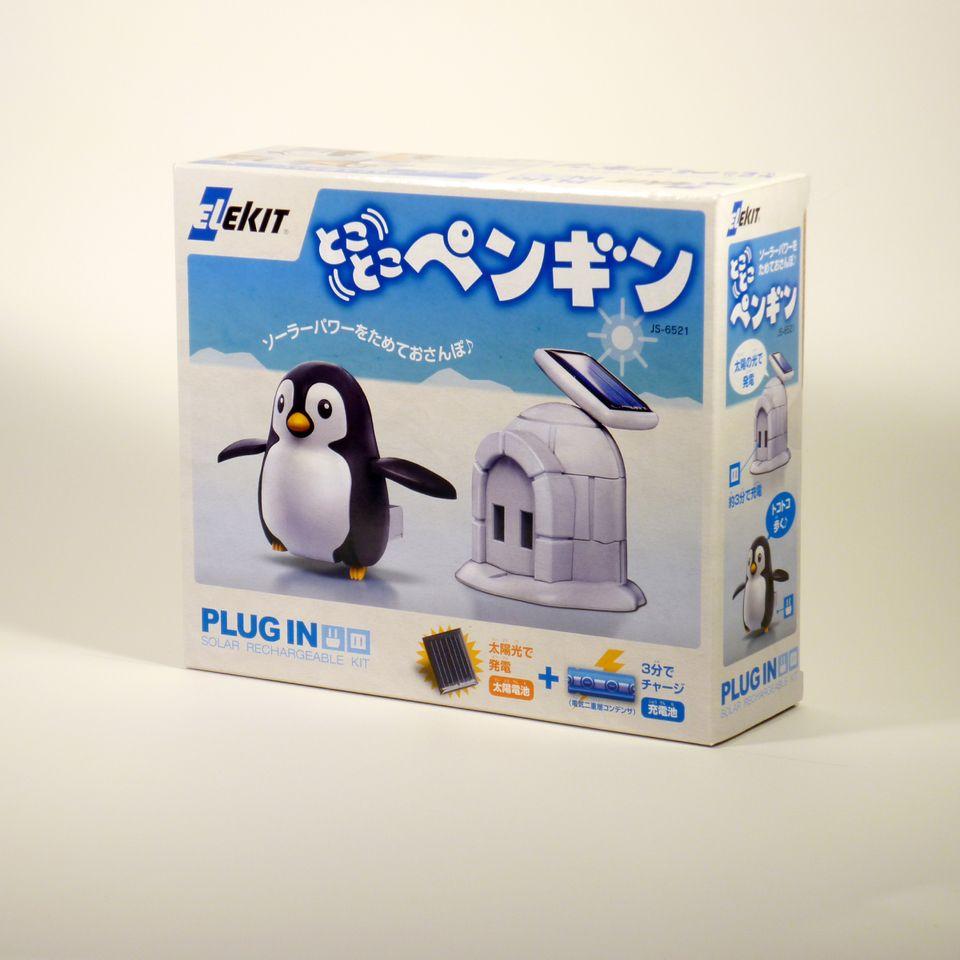 親も子供も夢中 エレキットのサイエンスロボット工作 イーケイジャパン JS-6521 アイテム勢ぞろい 8337259 とことこペンギン 新作製品、世界最高品質人気!