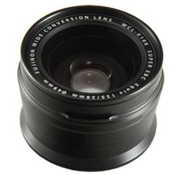 【送料無料】【ラッピング無料】FUJIFILM<富士フイルム> デジタルカメラ FUJIFILM X100S/X100専用ワイドコンバージョンレンズ WCL-X100B ブラック