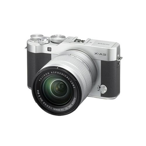 【送料無料】FUJIFILM<富士フイルム> Xシリーズデジタルカメラ X-A3 レンズキット シルバー FX-A3LK-XC-S