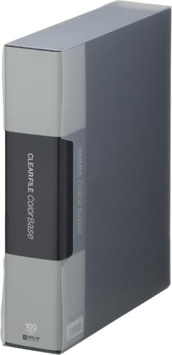キングジム 全商品オープニング価格 KING JIM ◆高品質 A4S 132-5Cクロ クリアーファイルカラーベースクイント