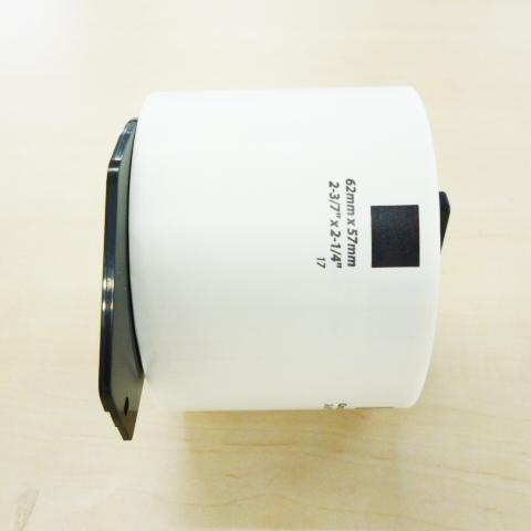 マックス 国産品 MAX 感熱ラベルプリンタ ELP-60用上質感熱紙ラベル ELP-60N対応 ELP-60S ELP-L6257N-17 ダイカットラベル お求めやすく価格改定