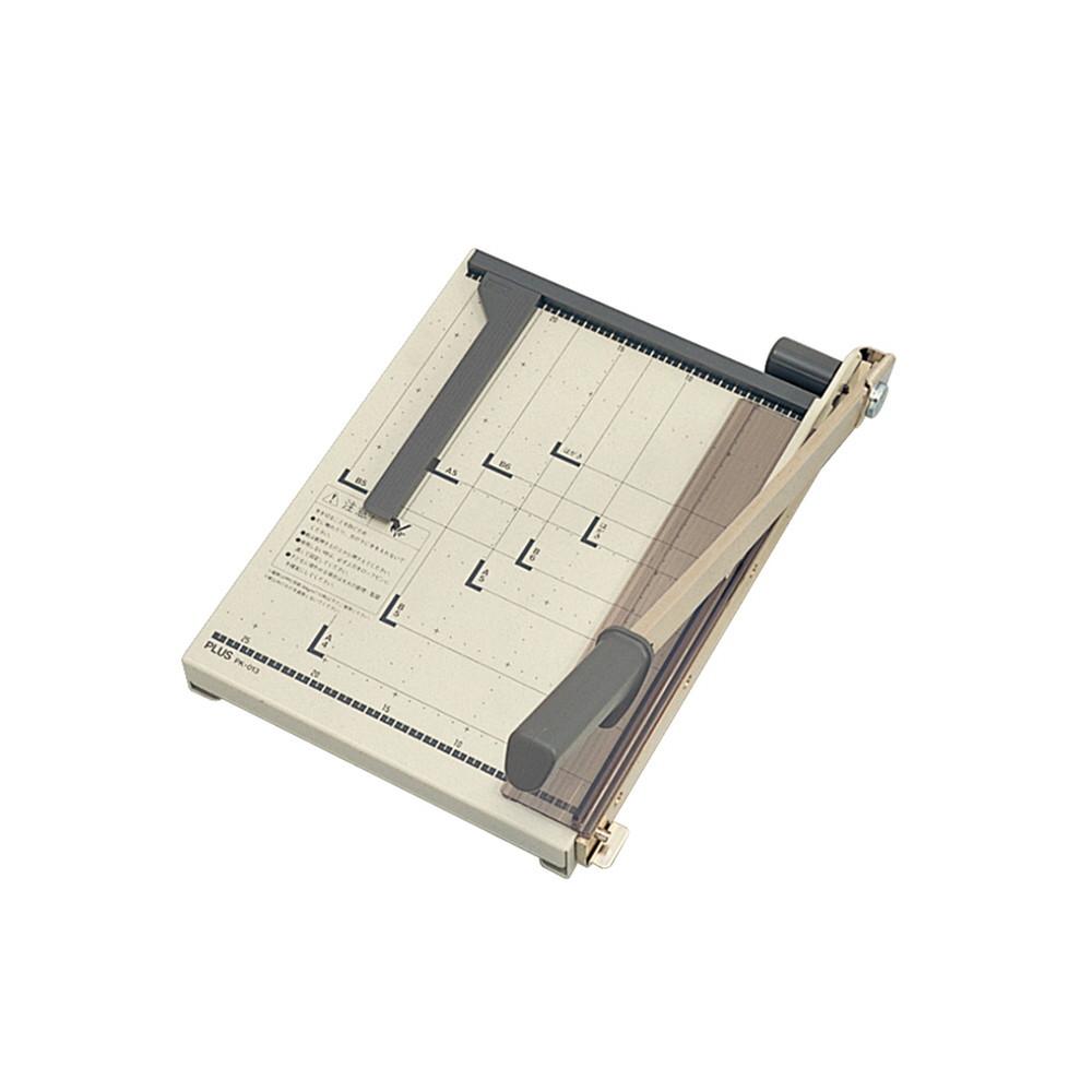 プラス(PLUS)裁断機 ペーパーカッター はがき/B6/A5/B5/A4対応 PK-013【送料無料】 12-763