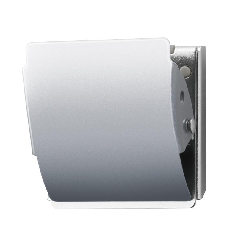 プラス机上用品フェア 今だけポイント3倍 ~9 まとめ買い特価 30 プラス PLUS 80-409 最安値挑戦 ホールド.L シルバー マグネットクリップ CP-047MCR-B