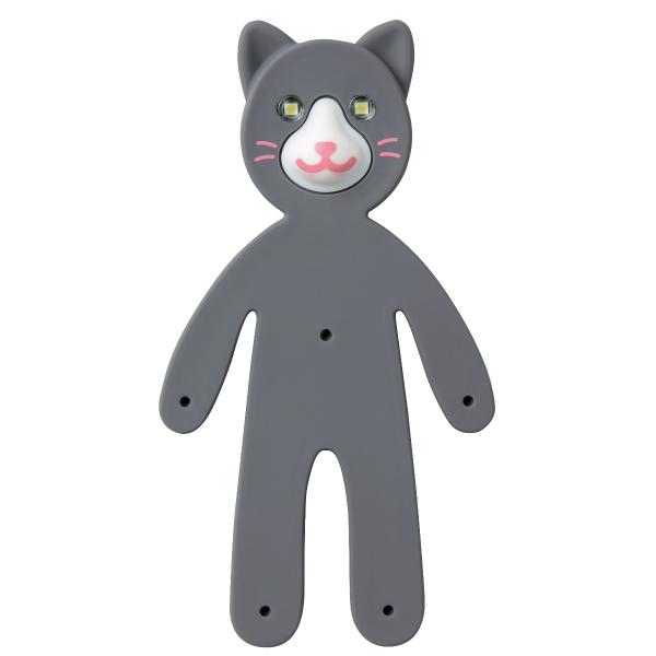 訳あり品送料無料 メール便なら送料290円 レイメイ藤井 ライトマン アニマルズ LTM1800 N 格安 価格でご提供いたします ねこ cat