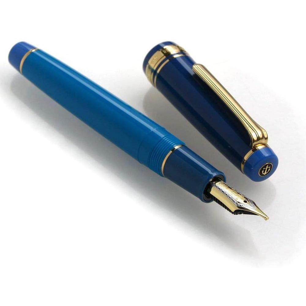 11-8525 グラブルー M(中字) 万年筆 九州限定品 セーラー万年筆 プロフェッショナルギア金
