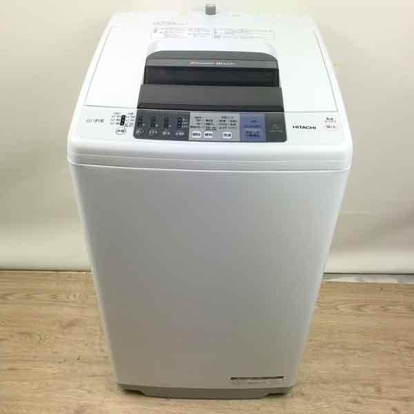 <title>メーカー:HITACHI 発売日:2016年11月19日 OUTLET SALE 保証6ヶ月 HITACHI 日立 洗濯機 2017年 NW-70A 7kg ホワイト 中古</title>