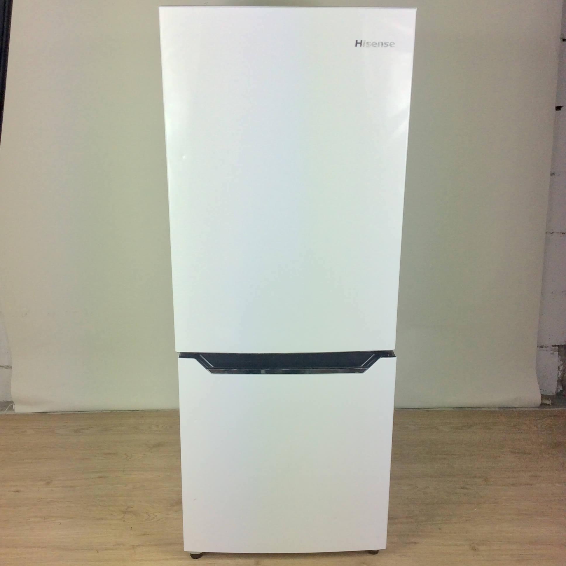 激安通販新作 【保証6ヶ月間】 ハイアール HR-D15C 冷凍冷蔵庫 150L 2019年製 ホワイト, 田川郡 cd261be4