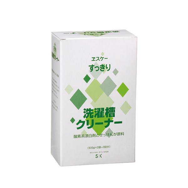 ヱスケー石鹸  すっきり 洗濯槽クリーナー 容量:500g×2×12
