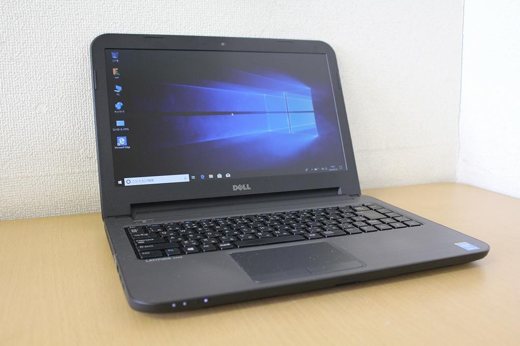 【Windows10搭載】【中古】第四世代Core i5 4210U搭載!14インチワイド液晶!メモリ4G!DVD鑑賞や書き込みも出来るDVDマルチドライブ搭載!ノートパソコン!DELL Latitude E3440『無線LAN搭載』『CD書込』『DVD書込』『DVD鑑賞』『Windows10』『お買い得!通常品』