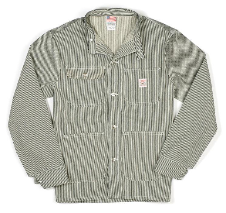 Pointer Brand | Pointer Hickory Stripe Banded Collar Jacket | ポインターブランド