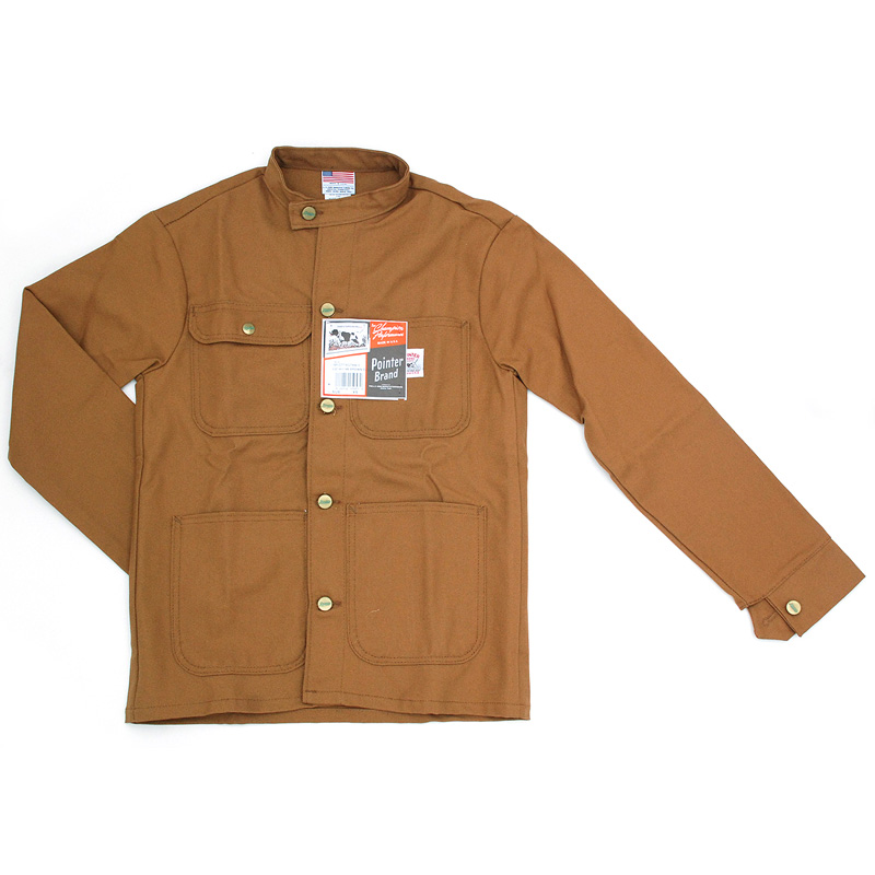Pointer Brand | Banded Collar Jacket Duck Brown | ポインターブランド