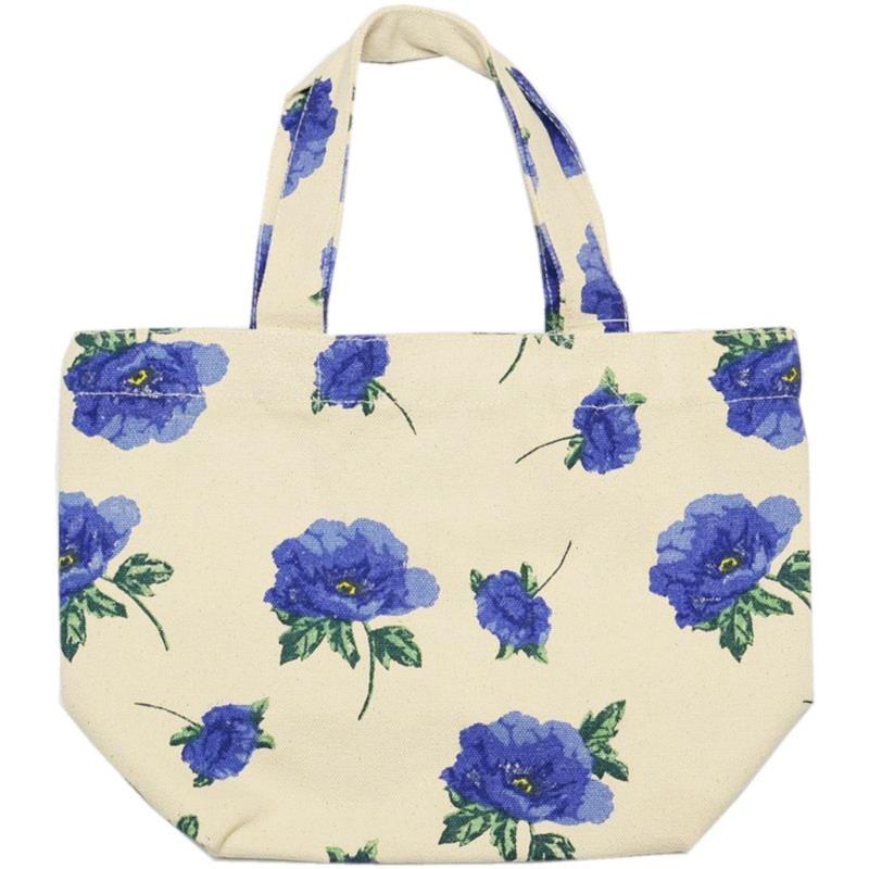 ミニトート バッグ トート 母の日 花柄 ラッピング無料 上品 高見え ランチバッグ お散歩 大好評です トートバッグ ミニ ブルーム お弁当袋 ちょっとそこまでに
