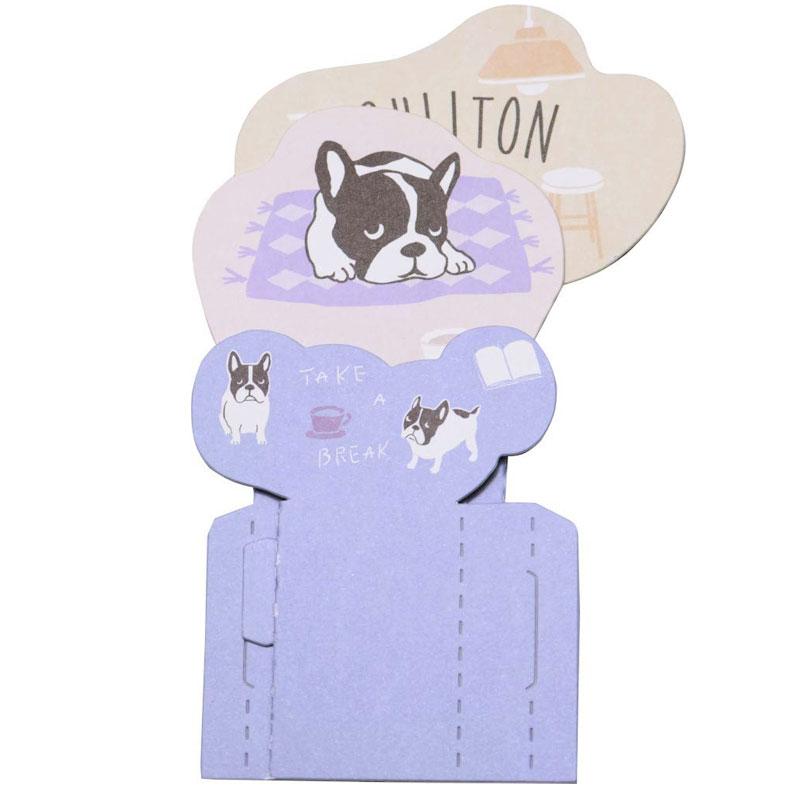 エコ 加湿器 紙製 人気ブレゼント ブルトン 自然気化式 加湿ペーパー イヌ いぬ カシツブルトン フレンチブルドッグ 犬 上質 ブルー