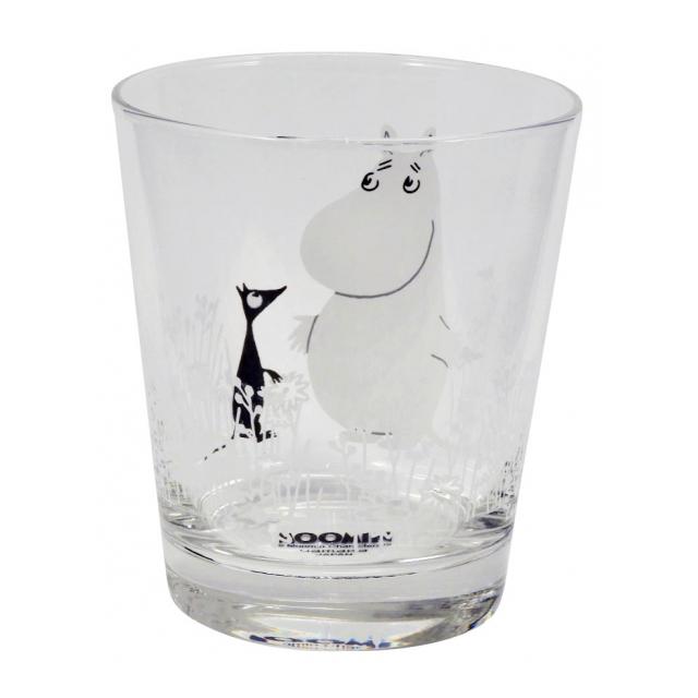 即納最大半額 ムーミン 最安値挑戦 クッピー ガラス タンブラー 260ml カップ ギフト コップ プレゼント グラス
