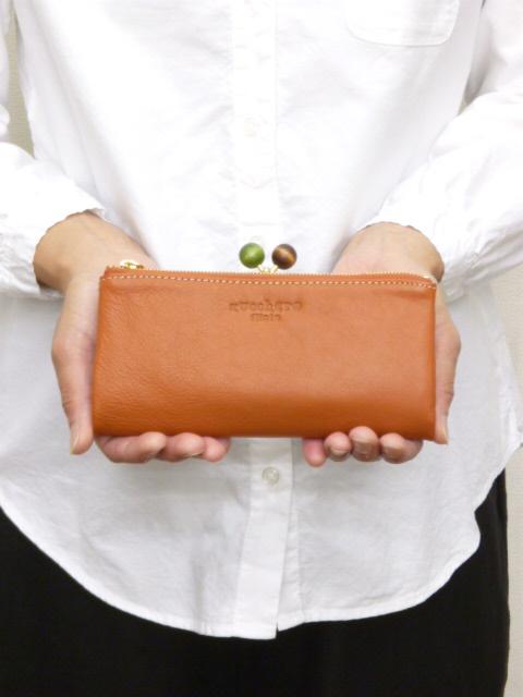【15%オフ・クーポン対象】ズッケロ フィラート zucchero filato サライ 長財布 がま口 牛革