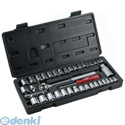 国内即発送 4941901030023 KENOH ソケットレンチセット 40pcs. 24131 Seasonal Wrap入荷 6.35mm 差込角9.5mm