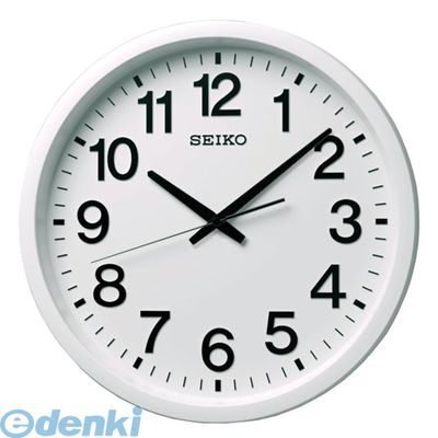 セイコー GP202W 衛星電波時計 掛時計 白