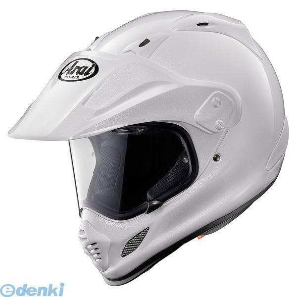 【受注生産品 納期-約2.5ヶ月】アライヘルメット [4530935348442] ヘルメット TOUR CROSS3 グラスホワイト 57-58 M【送料無料】