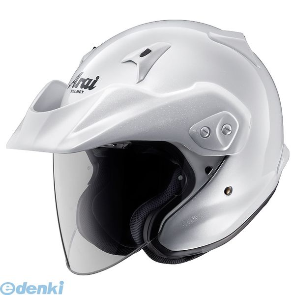 【受注生産品 納期-約2.5ヶ月】アライヘルメット [4530935352760] ヘルメット CT-Z グラスホワイト 54 XS【送料無料】