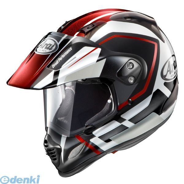 【受注生産品 納期-約2.5ヶ月】アライヘルメット 4530935392988 ヘルメット TOUR CROSS3 DETOUR レッド 59-60 L【送料無料】