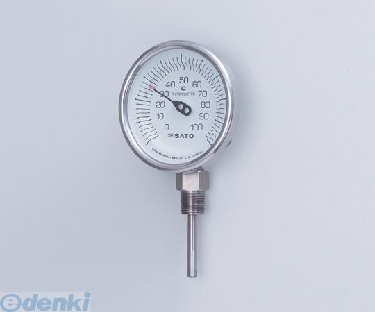 2-1340-02 バイメタル式温度計BMT-90S 100 2134002