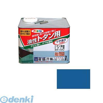 アサヒペン 4970925514066 アサヒペン トタン用 7L スカイブルー