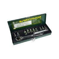旭金属工業 ASAHI VX4000 ASH ソケットレンチ用ヘキサゴンソケットセット12.7 376-7582
