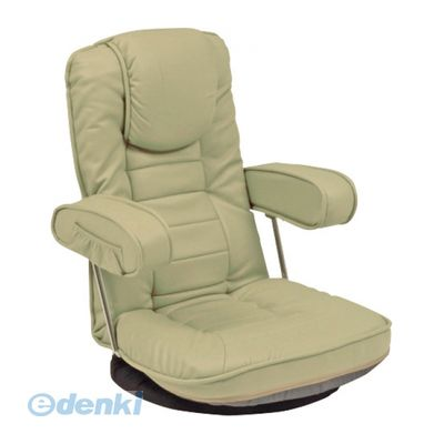 LZ-1081LGY 直送 代引不可・他メーカー同梱不可 座椅子LZ1081LGY