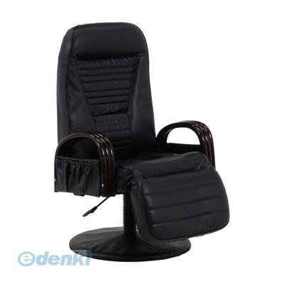 [LZ-4129BK] 「直送」【代引不可・他メーカー同梱不可】 回転座椅子LZ4129BK
