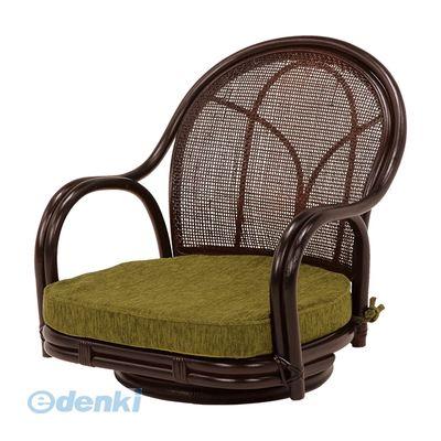 [RZ-341DBR] 【2個入】 「直送」【代引不可・他メーカー同梱不可】 回転座椅子RZ341DBR【送料無料】