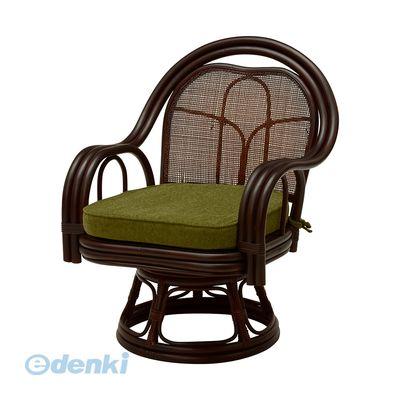 [RZ-522DBR] 【2個入】 「直送」【代引不可・他メーカー同梱不可】 回転座椅子RZ522DBR【送料無料】