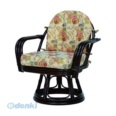 [RZ-933DBR] 「直送」【代引不可・他メーカー同梱不可】 回転座椅子RZ933DBR