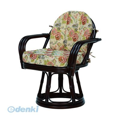 [RZ-934DBR] 「直送」【代引不可・他メーカー同梱不可】 回転座椅子RZ934DBR