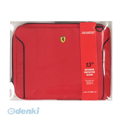 【個数:1個】「直送」【代引不可・同梱不可】[FEDA2ICS13RE] FERRARI 公式ライセンス品 FIORANO Red PU Leather Computer Sleeve 13インチノートパソコン等