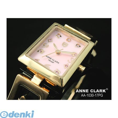 【個数:1個】 AA1030-17PG 直送 代引不可・同梱不可 ANNE CLARK ムービングトランプチャームブレス レディースウォッチAA103017PG