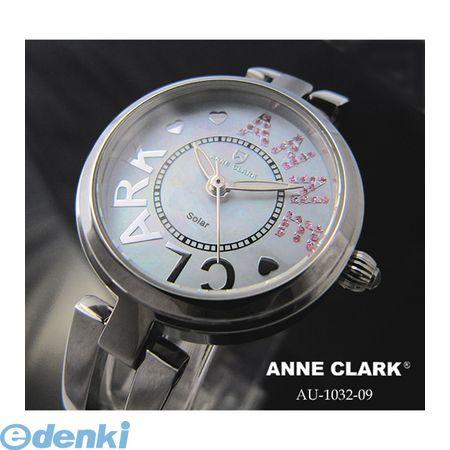 【個数:1個】 AU1032-09 直送 代引不可・同梱不可 ANNE CLARK ソーラレディース時計AU103209