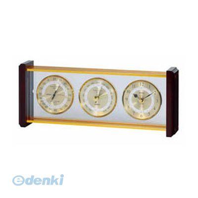 【個数:1個】「直送」【代引不可・同梱不可】[EX-743] EMPEX スーパーEX 気象計・時計 ゴールド