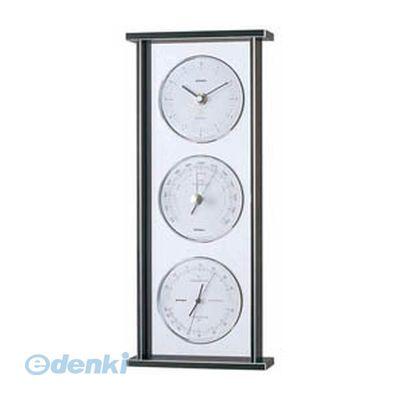 【個数:1個】 直送 代引不可・同梱不可 EX-793 EMPEX スーパーEX ギャラリー気象計・時計 シルバー