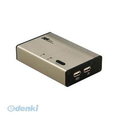 【個数:1個】「直送」【代引不可・同梱不可】[REX-230UDA] ラトックシステム USB接続DVI/Audio対応【PC 2台用】