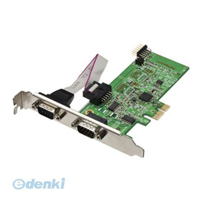 【個数:1個】 直送 代引不可・同梱不可 REX-PE60D ラトックシステム RS-232C・デジタルI/O PCI Expressボード【送料無料】