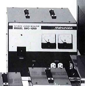 【個数:1個】マツナガ [SVC-1050]「直送」【代引不可・他メーカー同梱不可】 AVR定電圧電源装置 SVC1050【送料無料】
