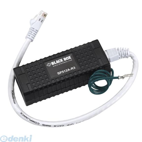 【個数:1個】【キャンセル不可 - 納期約2週間】ブラックボックス BLACK BOX SP512A-R3 100BASE-TX プロテクタ SP512AR3